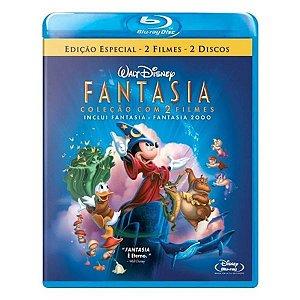 Blu-ray Duplo: Fantasia - Coleção 2 Filmes