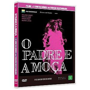 DVD  O Padre e a Moça - Bretz filmes