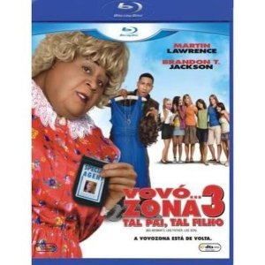 Blu Ray + Dvd Vovó Zona 3 Tal Pai, Tal Filho Martin Lawrence