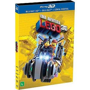 Blu-Ray 3D + Blu-Ray + Cópia Digital Uma Aventura Lego