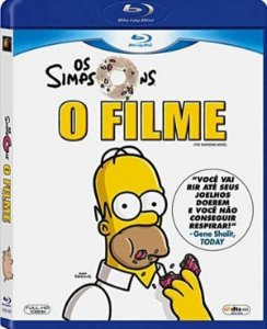 Blu-Ray - Os Simpsons: O Filme