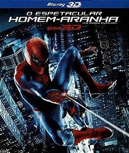 Blu-Ray 3D + Blu-Ray - O Espetacular Homem Aranha - (LUVA)
