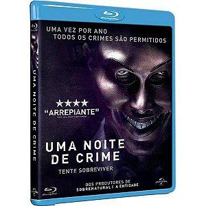 Blu-Ray - Uma Noite de Crime - The Purge