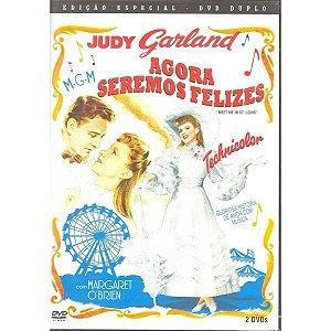 Dvd Duplo Agora Seremos Felizes - Judy Garland