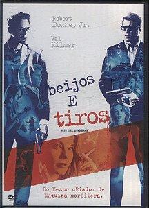 Dvd Beijos e Tiros - Robert Downey Jr. - Val Kilmer