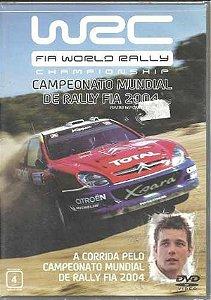 Dvd W R C Championship - Campeonato Mundial de Rally Fia 2004