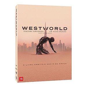 DVD WESTWORLD – TERCEIRA TEMPORADA: UM NOVO MUNDO