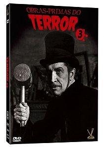 DVD Obras Primas do Terror - Vol. 03 - Versatil