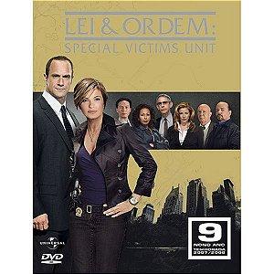 DVD Lei e Ordem - Special Victims Unit - 9ª Temp - 04 Discos