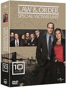 DVD Lei e Ordem - Special Victims Unit - 10ª Temp - 7 Discos
