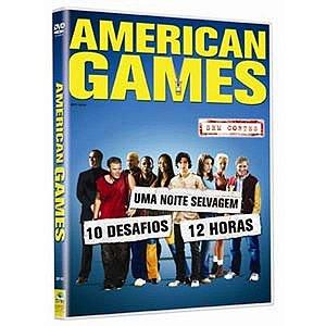 Dvd American Games - Sem Cortes