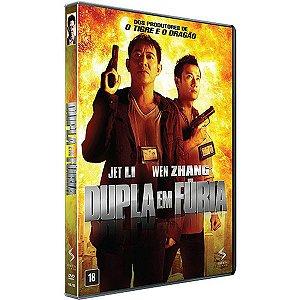 Blu Ray + Dvd Dupla Em Fúria - Jet Li