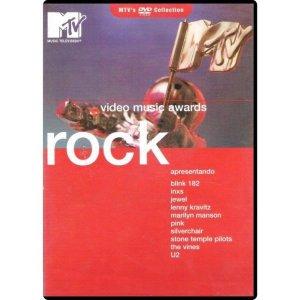 DVD MTV Video Music Awards Rock