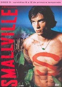 DVD  Smallville - 1ª Temporada Volume 3