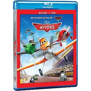 Blu-ray + DVD Aviões (2 Discos)
