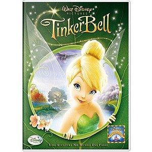 DVD Tinker Bell: Uma Aventura no Mundo das Fadas