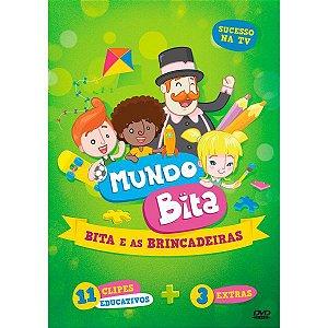 DVD - Mundo Bita - Bita e as Brincadeiras