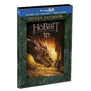 Blu-ray + Blu-ray 3D O Hobbit - A Desolação de Smaug - Edição Estendida