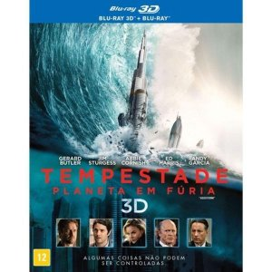 Blu-Ray + Blu-Ray 3D - Tempestade: Planeta em Fúria com Luva