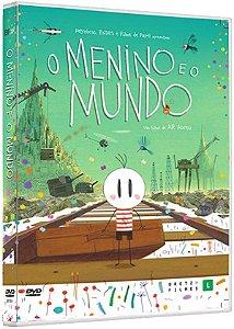 DVD O Menino e Mundo - Animação  - Bretz Filmes