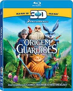 Blu Ray 3d + Blu Ray - A Origem Dos Guardiões