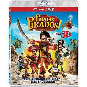 Blu-Ray 3D - Piratas Pirados!
