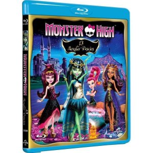 Blu-Ray - Monster High - 13 Monster Desejos