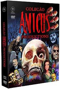 DVD Coleção Amicus Productions - 3 DVDs