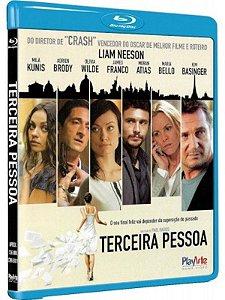 Blu Ray Terceira Pessoa - Liam Neeson