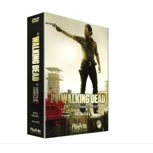 Box Dvd The Walking Dead 3 Temp - 5 Discos