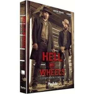 DVD - Hell on Wheels - 2ª Temp - 3 Discos