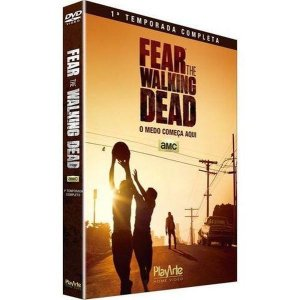 DVD Fear The Walking Dead - 1ª Temp - 2 Discos