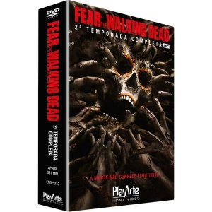 DVD Fear The Walking Dead - 2ª Temp - 4 Discos