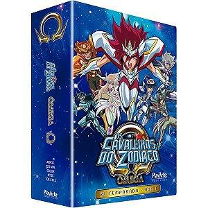 DVD - Os Cavaleiros do Zodíaco - Ômega – 2ª Temp box 1