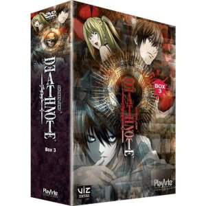 DVD DEATH NOTE BOX 3 - (3 DISCOS)