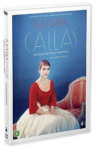 DVD - MARIA CALLAS - EM SUAS PROPRIAS PALAVRAS - Imovision