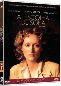 Dvd A Escolha de Sofia - Meryl Streep
