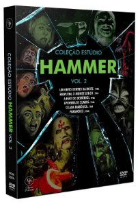 Dvd - Box Coleção Estúdio Hammer Vol.2 ENTREGA PREVISTA A PARTIR DE 20/02/2021
