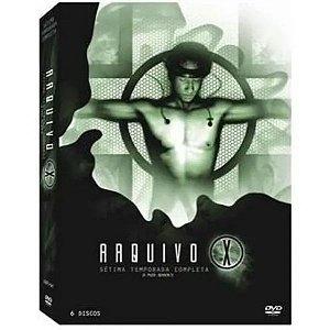 Box Arquivo X 7 Temporada Completa - 6 Dvd's