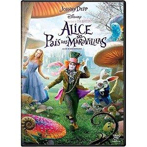 DVD Alice no Pais das Maravilhas - Filme