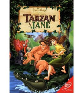 DVD - Tarzan e Jane - DISNEY
