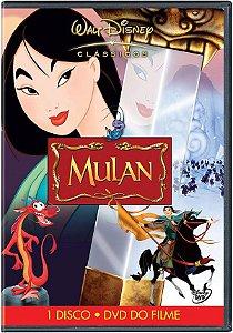 DVD Mulan - DISNEY