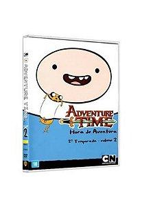 DVD Adventure Time - Hora da Verdade - 2ª Temp Vol. 2