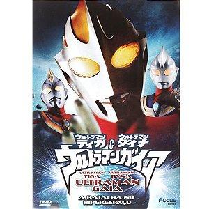DVD Ultraman - A Batalha do Hiper Espaço