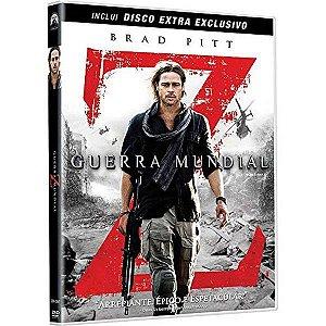 Dvd Duplo Guerra Mundial Z - Brad Pitt