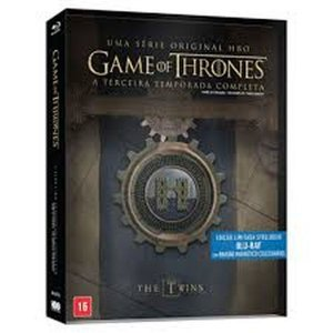 Blu-Ray Steelbook Game Of Thrones - 3ª Temporada Completa