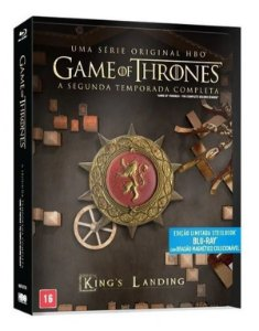 Blu-Ray Steelbook Game Of Thrones - 2ª Temporada Completa