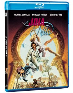 Blu-Ray A Jóia do Nilo (The Jewel of the Nile) - (exclusivo) Pré venda entrega a partir de 28/04/21