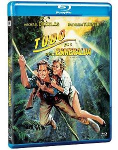 Blu-ray Tudo por uma Esmeralda (Romancing the Stone) - (exclusivo) Pré venda entrega a partir de 28/04/21