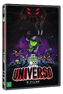 DVD BEN 10 Contra o Universo - O Filme - Pré venda entrega a partir de 28/04/21